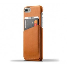 Mujjo wallet leren case iPhone 7 / 8 / SE 2020 bruin