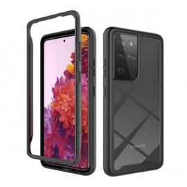 Casecentive Shockproof case Samsung Galaxy S21 Ultra black