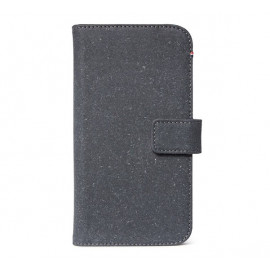 Decoded Leren Wallet Case iPhone 11 antraciet
