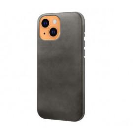 Casecentive Leather Back case iPhone 13 black