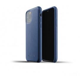 Mujjo Leather Case iPhone 11 Pro blauw