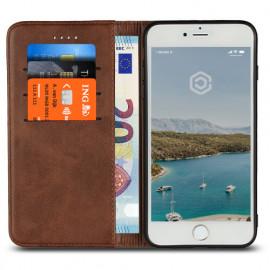 Casecentive Leren Wallet case iPhone 7 / 8 Plus bruin