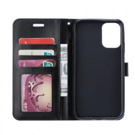 Casecentive Magnetische PU Leren Wallet case Galaxy S20 Ultra zwart