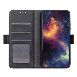 Casecentive Magnetische Leren Wallet case iPhone 12 zwart