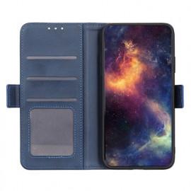 Casecentive Magnetische Leren Wallet case iPhone 12 blauw