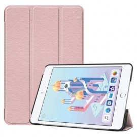 Casecentive Smart Leather Flip Case iPad Mini 4 / 5 roze / goud