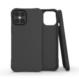 Casecentive Soft Eco TPU Case iPhone 12 Pro Max zwart