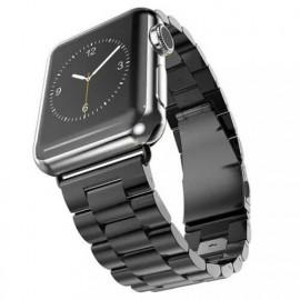 Casecentive Stainless Steel Watch Strap Apple Watch 42 / 44 mm zwart