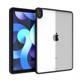 Casecentive Back Case iPad Air 2020 zwart / transparant