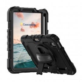 Casecentive Handstrap Pro Hardcase with handstrap iPad Mini 6 2021 black