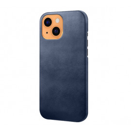 Casecentive Leather Back case iPhone 13 blue