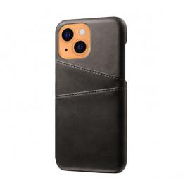 Casecentive Leather Wallet Back case iPhone 13 black