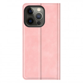 Casecentive Magnetic Leather Wallet case iPhone 13 Pro Max pink