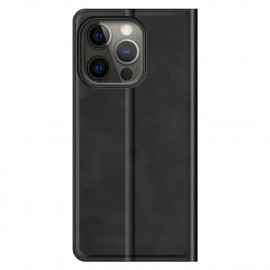Casecentive Magnetic Leather Wallet case iPhone 13 Pro Max black