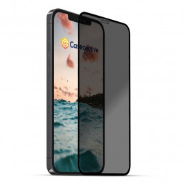 Casecentive Privacy Glass Screenprotector 3D full cover iPhone 13 Pro Max