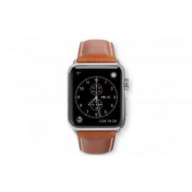 Dbramante1928 Kopenhagen Apple Watch bandje 38mm grijs/bruin