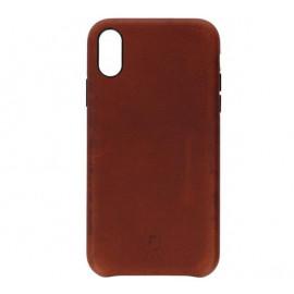 Decoded Leren case iPhone XR bruin