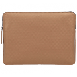 Knomo MacBook Air/Pro 13 Sleeve Embossed brons