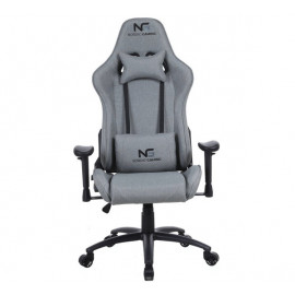 Nordic Gaming Racer Fabric Gaming Chair Grey