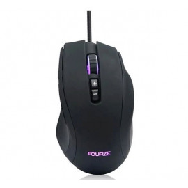 Fourze GM110 gaming mouse zwart