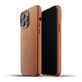 Mujjo Leather Case iPhone 13 Pro Max brown