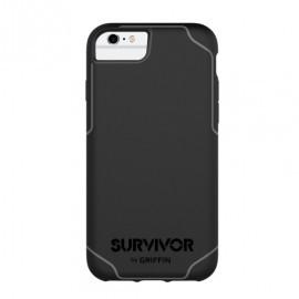 Griffin Survivor Journey iPhone 6(S) / 7 / 8 / SE 2020 zwart/grijs