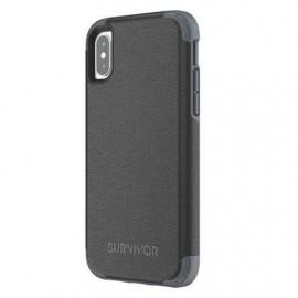 Griffin Survivor Prime Leather Case iPhone X / XS zwart