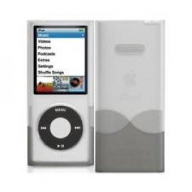 Griffin iClear iPod nano Grijs