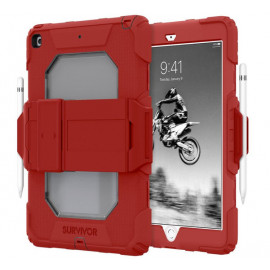 Griffin Survivor All-Terrain Case iPad 10.2 inch rood