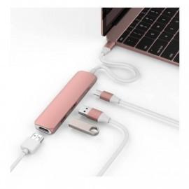 HyperDrive USB-C Adapter HDMI USB 3.1 rosé gold