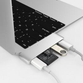 HyperDrive USB-C 5 in 1 Hub zilver