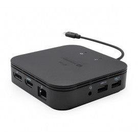i-Tec Thunderbolt 3 Travel Dock Dual 4K Display zwart