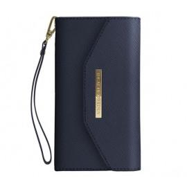iDeal of Sweden Mayfair Clutch Wallet case iPhone 11 blauw