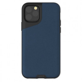 Mous Contour Leather iPhone 11 Pro blauw