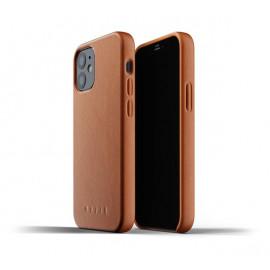 Mujjo Leather Case iPhone 12 bruin