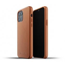 Mujjo Leather Case iPhone 12 Max / Pro bruin