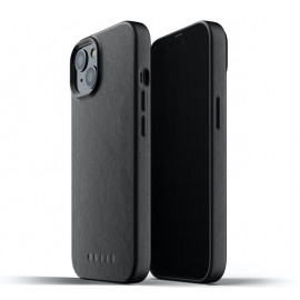 Mujjo Leather Case iPhone 13 Mini black