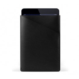 Mujjo Slim Fit Leather Sleeve iPad Mini 1 / 2 / 3 / 4 / 5 zwart