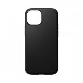 Nomad Modern Leather case Magsafe iPhone 13 Mini black