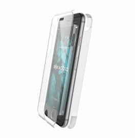 X-Doria Defense 360° voor en achterkant cover met Tempered Glass iPhone 7 / 8 / SE 2020 clear