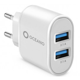 SBS Recycled Plastic Travel Charger 10W wit