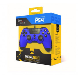 Steelplay MetalTech Wired Controller PS4 Sapphire Blue