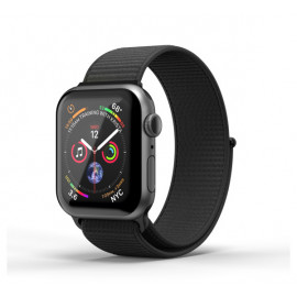 SuperDry nylon band Apple Watch 42 / 44mm zwart