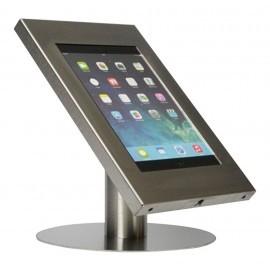 Tablet tafelstandaard Silver iPad 2/3/4 Air en Galaxy Tab roestvrijstaal (RVS)