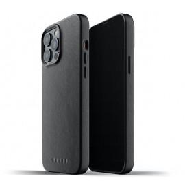 Mujjo Leather Case iPhone 13 Pro Max black
