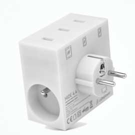usbepower HIDE 5-in-1 wall charger wit