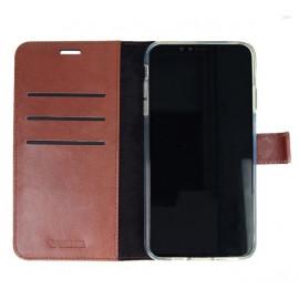 Valenta Booklet Leather Gel Skin iPhone 11 Pro bruin