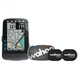 Wahoo Fitness ELEMNT ROAM GPS Stealth Bundle Bike Computer