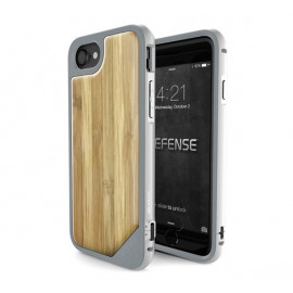 X-doria Defense Lux Cover iPhone 7 / 8 / SE 2020 bamboo